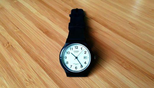 チープカシオの腕時計でスマホ依存がマシになった