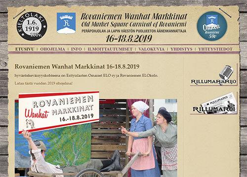 Rovaniemen Wanhat MarkkinatRovaniemen Wanhat Markkinat