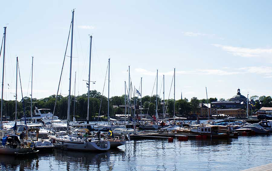 boats in sweden