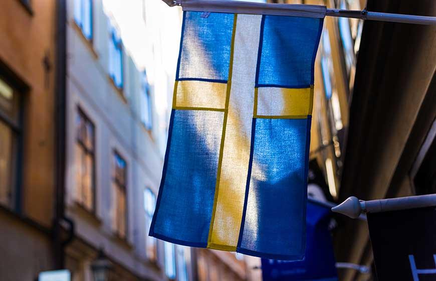 スウェーデンと間違えないように