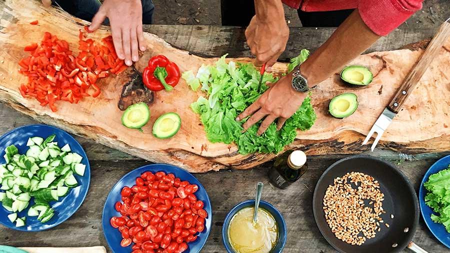 vegan cooking