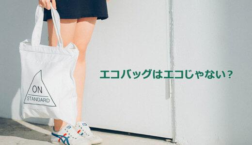エコバッグは本当にエコ?より環境にやさしい買い物袋を考える