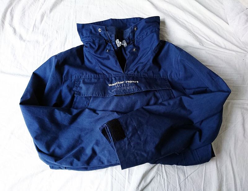 補修するジャケット
