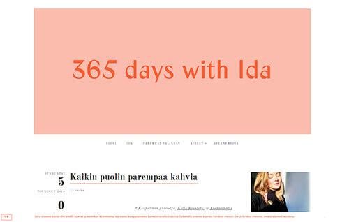 365 days with Ida | Tyylipohdintaa, luonnonkosmetiikkaa, musiikkilöytöjä, herkullista ruokaa & Helsinki-vinkkejä!