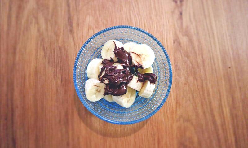 バナナとスプレッド