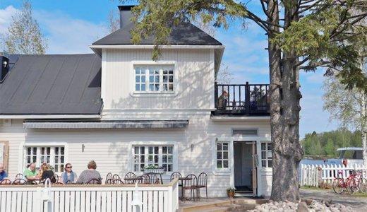 【Oulu】ひなたぼっこに最適な川沿いカフェ「Koivurannan kahvila」