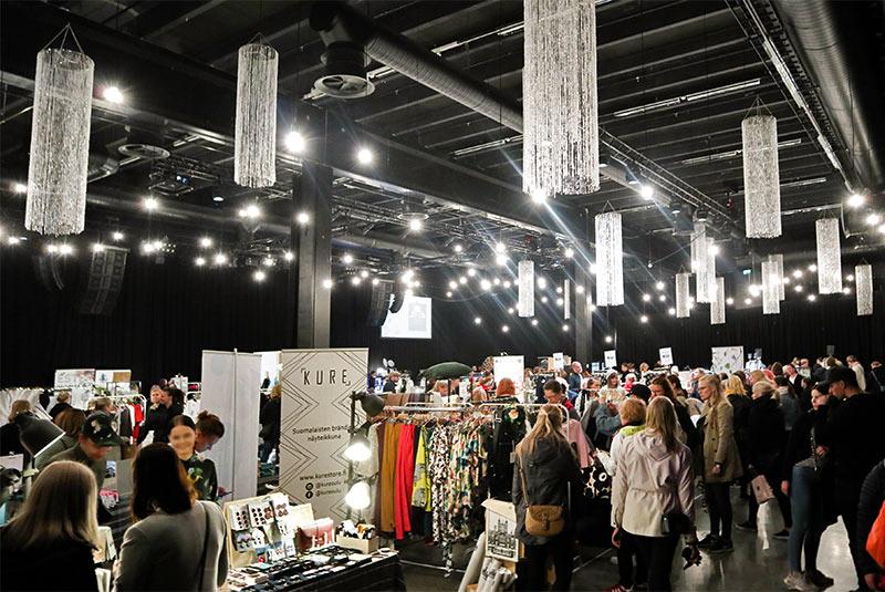 Scandinavian Design Market Oulu会場の様子