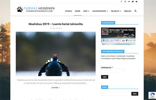 Blogi - Tuomas Heinonen