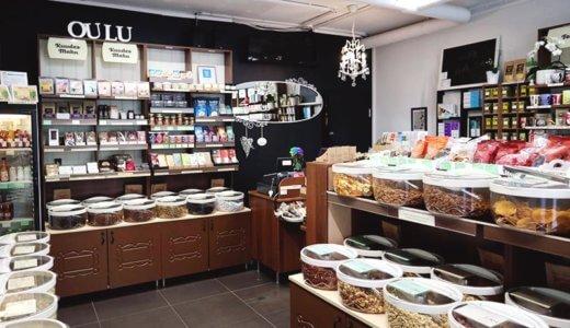 ナッツ、ドライフルーツが豊富!Ouluのエコな量り売りのお店「Kuudes Maku」