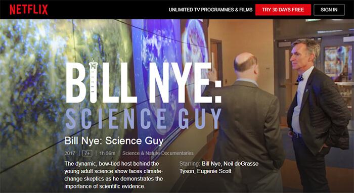 ビル・ナイ: 科学の伝道師