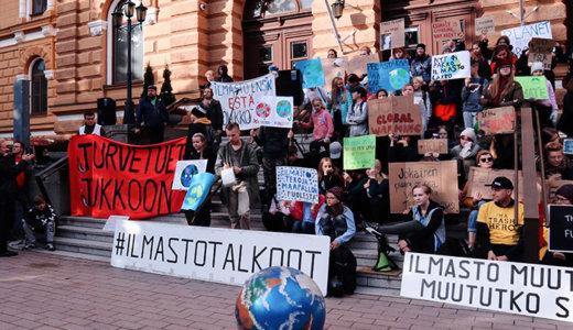 フィンランドの「グローバル気候マーチ」に参加しました【レポートと学んだこと】