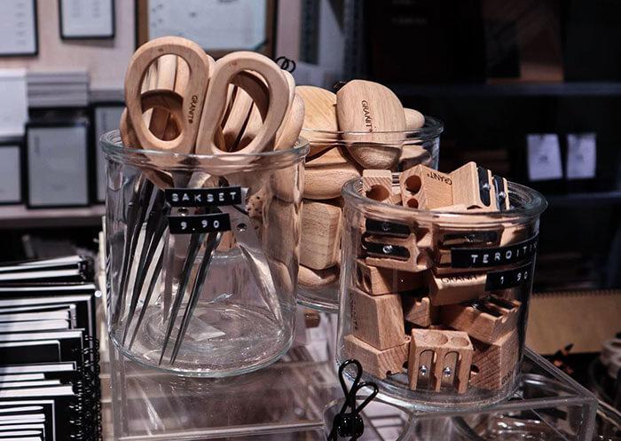 木製の文房具たち