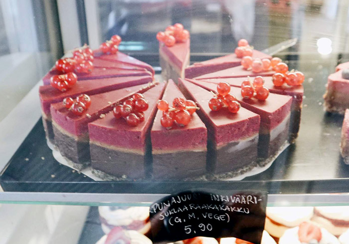 Roosterの独創的なヴィーガンケーキ
