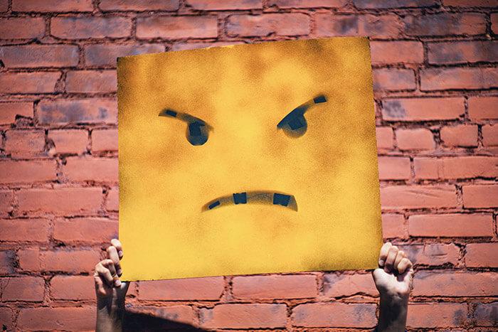 怒りはミスの原因